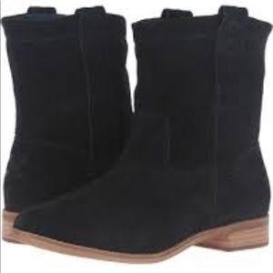 """TOMS """"Laurel"""" black suede boot"""
